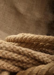 Natural carpet backings are typically made of jute fiber.