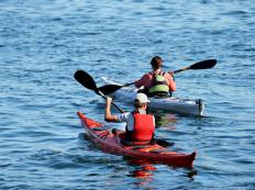 Kayaking paddles are essential pieces of kayak gear.
