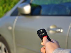Keyless entry devices allow drivers to open or start cars at a distance.