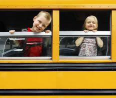 School bus drivers may go through summer training.