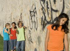 Bullying can include not making someone feel included in social groups.