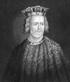 The Magna Carta, which King John of England was forced to sign in 1215, established a fixed court.