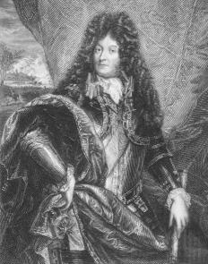 King Louis XIV adopted the cravat and helped make it popular in many large European countries.