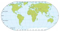 How often a polar day occurs depends on a location's distance from the equator.