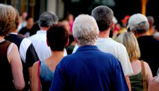 People with cortical blindness may become disoriented in large crowds of people.