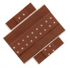 Surgical tape may be used in addition to adhesive bandages to ensure wounds are kept sterile.