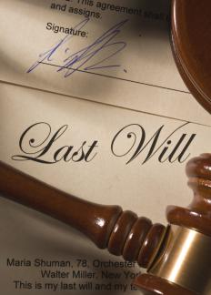 Some supplemental needs trusts are incorporated into a last will and testament.
