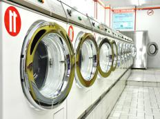 Laundromats are sometimes called laundry mats.