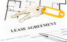 Monthly rent payments may be altered by the lender with a graduated lease agreement.