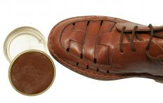 Traces of white gas may be found in shoe polish.