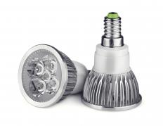 Dimmable LED lights can be used for indoor or outdoor fixtures.