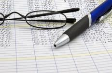 Ledgers are used in financial recordkeeping.