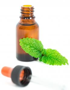 Lemon balm may be used as a home remedy to treat eye warts.