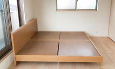 It may be helpful to choose a bed frame design that complements other furniture in a bedroom.