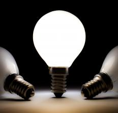 A LED has many advantages over traditional incandescent light.