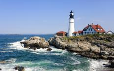 Travel agents may plan trips around a theme, such as visiting lighthouses.