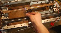 A linear encoder is a type of transducer that is capable of measuring its position along a straight line.