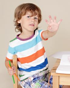 When a child is done drawing with crayons, she can insert one crayon into each pocket of the crayon roll.