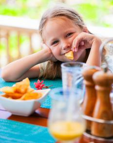 It is best for children to get their nutrition from a healthy and balanced diet.