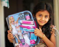 Themed Easter baskets may include Barbie dolls.