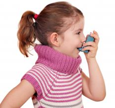 A nebulizer will be necessary if a child is unable to use an inhaler.