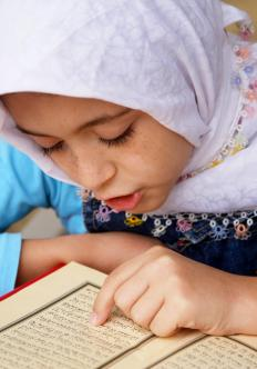 Altnerative schools include religion-based schools, such as those that teacher education from a Muslim perspective.