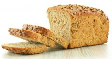 Flaxseed may be used in bread.