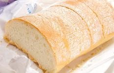 Monoglycerides are added when baking bread to produce a larger and fluffier loaf.