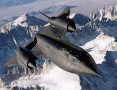 The Lockheed SR-71, which was designed by aerospace mechanical engineers.
