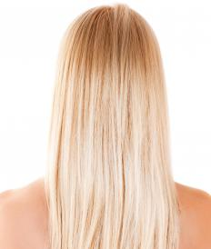 Straightening cream can be used to tame and straighten curly or frizzy hair.