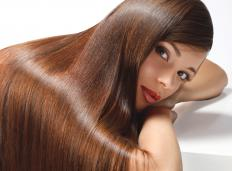 Cocoa butter can help make hair healthier.