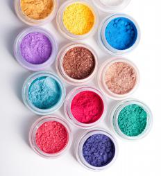 Good eye makeup pigmentation is important when selecting colors for dark skin.