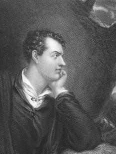"Lord Byron used ""blood and thunder"" in ""Don Juan."""