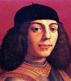 The Medici family, including Piero II de' Medici, was ousted from the monarchy in Florence in 1494, the same time that Niccolò Machiavelli entered politics.