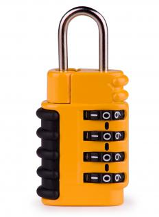 Padlocks can be used to secure a chain gate.