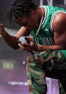 Lupe Fiasco is an American rapper.