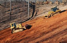 Crawler tractors are commonly called bulldozers.