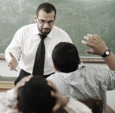 A teacher may be held responsible for a student's emotional trauma.