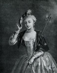 Madame de Pompadour was a socialite during the reign of King Louis XV of France.