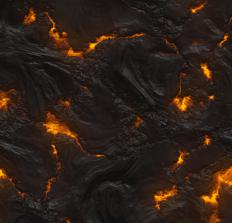 Granite is derived from hot magma.