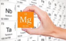 Magnesium's atomic weight is 24.31.