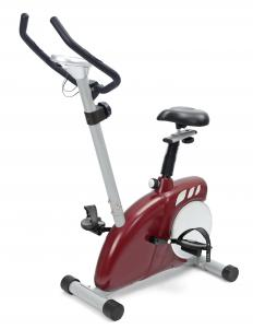 A magnetic exercise bike may feature an LCD screen and an ability to increase and decrease levels of resistance.