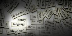 Magnetic word tiles can provide a medium for interactive poetry.