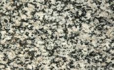 Granite is a popular surface for countertops.