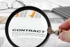 Reviewing, analyzing and negotiating contracts is an important aspect of many administrator jobs.