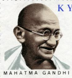 Mahatma Gandhi was a leader of nonviolent protest.