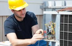 The cost of parts and labor for regular maintenance are included in HVAC service contracts.