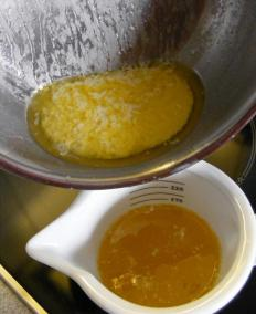 Ghee, which is used for fuel in lamps for tratak.