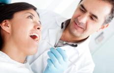 Endodontics is concerned with the roots and soft matter below the tooth.