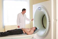 A CT scan may be used to confirm that a tumor is present.
